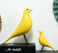 Nordic Ins Simulation Vogel Dekoration Ornamente gefälschte Vogel Wohnzimmer TV Schrank Eames Vogel kreative Dekoration