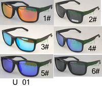 Hombres de verano polarizados debajo de las gafas de sol deportivas A ciclismo Gafas de sol + caja de caja Deportes al aire libre CONDUCCIÓN Gafas Gafas envío gratis