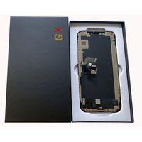 İPhone X XS Siyah OLED LCD Dokunmatik Ekran Değiştirme Onarım VS LCD Ekran iPhone X Ekran Paneli Hasar GX Marka Büyük Bir Quanlity