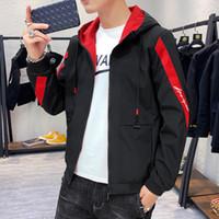 Mens Designer Jacken Fashion New Arrival Herren Luxus Jacke Mantel Outddor Casual mit Reißverschluss Herren Jacken Hooded Mens Clothing