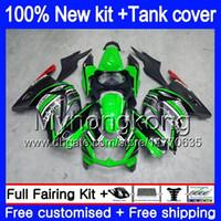 + Serbatoio per Kawasaki EX250 ZX250R EX250R ZX250R EX250 201MY.81 Nuovo verde EX 250 ZX 250R 08 09 10 11 12 2008 2009 2010 2011 2012 carenatura