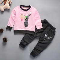 good quality baby boys girls clothes sets spring autumn cart...