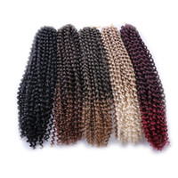 Synthetic Braiding Hair Passion Twist 18Inch 24 Strands Pre ...