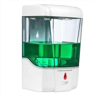 Jabón Líquido sensor inteligente 700 ml de jabón dispensador automático Touchless del desinfectante Dispensador Dispensador Para Cocina Baño