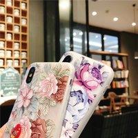 3D Flower Case For Xiaomi Pocophone F1 8 9 SE Mi A1 A2 Lite Redmi 7 6 Pro 6A 5A 5 Plus Note 4 4X Soft TPU Cover