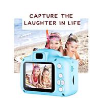 كاميرا 2020 الساخن للأطفال كاميرا رقمية صغيرة للأطفال لطيف الكرتون كاميرا 13MP 8MP كاميرا SLR لعب للشاشة 2 بوصة هدية عيد ميلاد