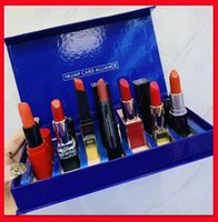 2019 Famous Lip Makeup Set 7pcs Matte Lipstick The Slim Roug...