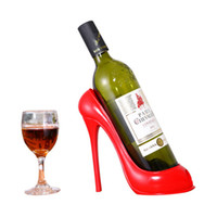 ارتفاع كعب الحذاء النبيذ رف النبيذ حامل زجاجة النبيذ الاحمر حامل التخزين هدية سلة أدوات المطبخ بار المنزل