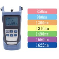 Ftth Fiber Optic Tool Kit with Optical - 70- + 10DB Power Meter...