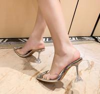 Perfekte offizielle Qualität Amina Schuhe Begum Kristall-verzierte PVC-Slingback-Pumpen Muaddi-Auftrügestänge Begum PVC-Slauchbacks 5cm High Heel