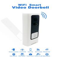 1080P WiFi Wireless Video-Türklingel-Zwei-Wege-Echtzeit Stimme Intercom intelligente Türklingel Home Security Handy-Fernbedienung