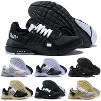 2018 New Presto 2.0 Air Casual Chaussures Pour Hommes Femmes, Noir Blanc Prestos Casual Chaussures US 5.5-12 Eur 36-46
