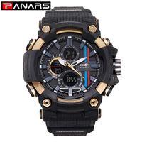 Panars Trend Stil Elektronische Uhr Männer Wasserdichte Sport Fitness Aktivität Schock Digital Quarz Leuchtende Datum Multifunktions