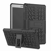 Huawei MediaPad T3 8.0 케이스 핫 하드 플라스틱 TPU 콤보 갑옷 브래킷 보호 커버 케이스 Huawei MediaPad T3 8 인치
