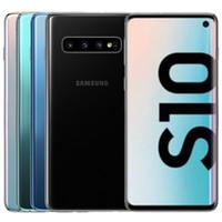 Recuperado Original Samsung Galaxy S10 G973F G973U 6.1 polegadas 1pcs Octa Núcleo 8GB de RAM 128GB ROM 16MP 4G LTE Android entregas DHL livre