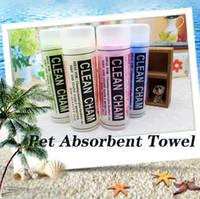 Animaux Absorbent Serviette de bain pour chien serviette douce Lingettes Magic Hair PVA sec multifonction pour Maison Car Pet serviette