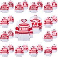 Detroit Red Wings Nicklas Lidstrom Dylan Larkin Henrik Zetterberg Jimmy Howard Gordie Howe Justin Abdelkader Pavel Datsyuk Hockey Jerseys