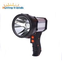 Superbright التكتيكية المحمولة أضواء غاش بندقية مصباح يدوي قابلة للشحن 18650 بطارية وشملت 3 وضع مع شاحن الطاقة ضوء USB ضوء الجانب