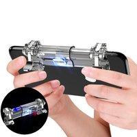 K8 PUBG Cep Ücretsiz Boyutlandırma Oyun Telefonu Gamepad Denetleyici Oyun Joystick Tetik Yangın Düğmesi Amaç Anahtar Atıcı Oyun Pedi Kolu Standı 10 adet / l
