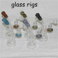 "Bong Dab Pipes Rig Água 6.3"" com Quartz Banger Bongs Heady Mini Cachimbo Wax Oil Rigs pequeno Bubblers"