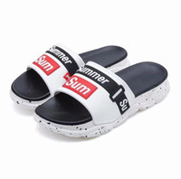 NEW Designer slipper Gear bottoms mens striped sandals causa...