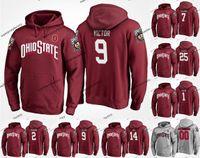 Männlich Ohio State Buckeyes College-TeamHoodie Jersey 9 Binjimen Victor 7 Dwayne Haskins 2 J. K. Dobbins 14 K. J. Hill J. T. Barrett Mike Weber