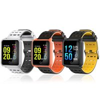 Pressão N88 relógio inteligente Sangue Heart Rate Monitor inteligente Pulseira de Fitness Rastreador IP68 impermeável inteligente Relógio de pulso para o iPhone Assista Android