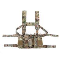 التكتيكية حبال الصدرية رخوة الحقيبة 1000d نايلون الصدرية حزام القتال الجيش معركة cummerbunds مع الكتف حبال تسخير