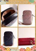 Üst satış mini çanta Kredi Kartı Tutucu Tam Orjinal deri Çantalar cüzdan çanta kamera çantası gerçek deri mini omuz çantasını aralığı