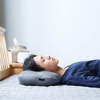 Sono Profundo Addiction 3D Pillow Design Ergonômico Bed Beleza Fundamentos Viagem Air Cushion Acampamento Praia Car Plane Descanso para Cabeça do sono