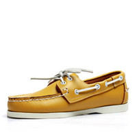 Männer Casual Wildleder Slip On Driving Loafers Wohnungen Mokassins Dockside Zapatos De Los Hombres 5 # 21 / 20D50
