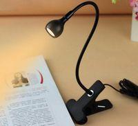 W USB Rechargeble الصمام الخفيفة كليب على القراءة السرير مرنة مصباح الجدول مصباح مكتبي كتاب سطح السرير مصباح الإضاءة السرير الإضاءة LLFA