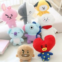 30cm Cute Bangtan Boys BTS bt21 stuffed animals Plush Toy TA...