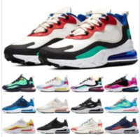 2020 nike air max 270 react Phantom multi color sneakers men women bauhaus optical black blue empty summit white running shoes high quality outdoor trainers designer shoes