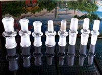 10 stili adattatore di vetro 7cm narghilè ciotola adattatore 14mm-14mm femmina 18-18mm femmina 14-18mm adattatore di vetro maschio per vetro Bong tubo di acqua