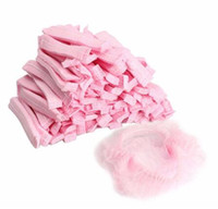 10000 teile / los Vlies gefaltete Dusche Schönheit Einweg-Männer Spa für Frauen Hut Bad Hair Anti Dust Salon Caps Caps Zubehör Mnorx