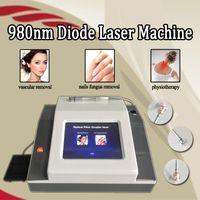 Diodenlaser 980 nm rote vaskuläre Besenreiser stellen Venenentfernungsmaschine Laserdiodenlaser 980nm Schönheitsausrüstung gegenüber