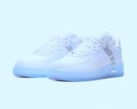 2020 New Arrivals Forceds 1 Reagir QS Running Shoes Mulheres Homens Trainers Luz óssea Skate branco sapatilhas esportivas