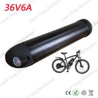 Akümülatör Pil 2000 MAH Kapasiteli Elektrikli Bisiklet E-bike Pil 36 V 6AH Su Şişesi Lityum iyon Pil Bisiklet Motor 500 W