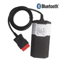 DS150E TCS CDP OBD2 com Bluetooth caminhão veículo carro do diagnóstico de falha do scanner leitor de código de carro ferramenta de 2015,3 / 2016,1