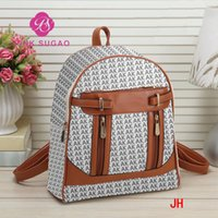 Pink sugao backpacks designer backpack luxury travel bags pu...