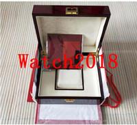 Cajas de lujo de alta calidad Topselling Red Nautilus Original Box Papers Tarjeta Bolso de madera para Aquanaut 5711 5712 5990 5980 Watch Boxe