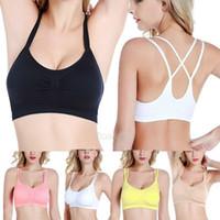 Новая мода Женщины бюстгальтер Бесшовные Спорт сексуальный бюстгальтер Тощий Wireless Crop Top Vest Танки Comfort Stretch Shapewear