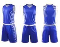 Лучшие фитнес-2020 Мужчины спорта Баскетбол Трикотажные Mesh Performance Пользовательские Customized Баскетбол одежды Дизайн униформы yakuda Учебные комплекты