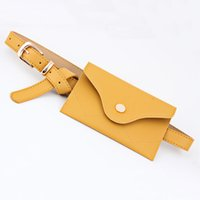 Outdoor-Taschen Frauen PU-Leder Taille Tasche Bunte Packungen Gürtel Fanny Pack Lady Pouch Handy Taschen Werkzeug