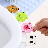 휴대용 변기는 변기 뚜껑 장치에 편리하게 옮기는 언급 화장실 변기 손잡이 링 홈 욕실 제품 설정 GT66