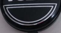 100 pz 64mm nero grigio centro ruota auto tappi coprimozzo cerchi copertura emblema distintivo per Volvo Fit per S60 S80L XC60,3546923 Car styling
