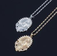 designer jewelry Jesus cross pendant necklace goddess zircon necklace for women hot fashion free of shipping