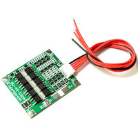 10 PCS / LOT 4S 30A 14.8V Li-ion Lithium 18650 Batterie BMS Packs PCB Protection Board Balance Circuits Intégrés 45x56mm Livraison Gratuite