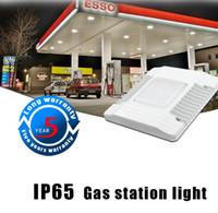 2019 Le nouveau 60W 100W 150W LED Canopy Lumières extérieur a conduit la lumière crue Station Lampe High Bay AC 100-277V LLFA